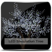 artificial flower outdoor lights artificial trees cherry blossoms faked tree trunk led lighting tree