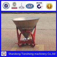 CDR stainless steel fertilizer spreader about salt spreaders for tractors
