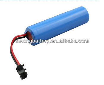 18650 cylindrical li-ion battery for solar Led light