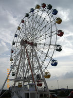 Large amusement park rides !Giant playground ferris wheel