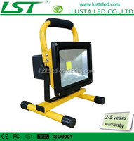 Rechargeable LED Flood Light IP65 Outdoor 24V 12V Work Light LED 5W 10W 20W Portable Sports Floodlights