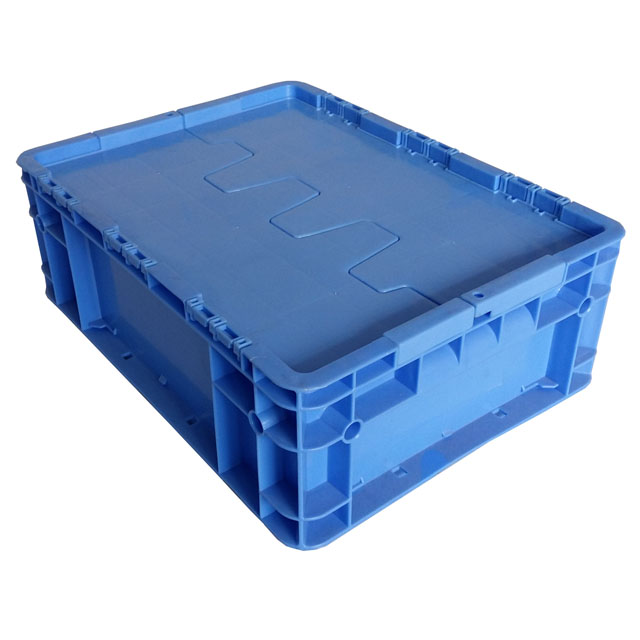 large bread plastic storage crates for storage and moving heavy duty logistic stackable plastic crate with lid