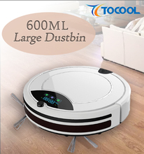 600ML Large Capacity Dustbin Robot Vacuum Cleaner, Home Appliance Vacuum Cleaner Made in China