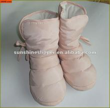 women winter indoor boots/down boots PP foam filling inner soft and warm ST9122