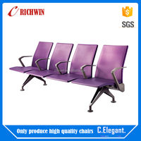 Factory price airport chair waiting , public 3-seater airport chair with high quality