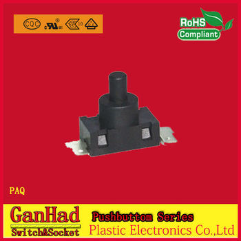 pushbutton switch for Vacuum cleaner