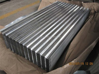 4x8 galvanized / galvalume corrugated sheet metal price