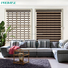 Waterproof shangri-la blackout ventilation blinds for bathroom