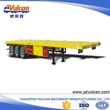 Manufacturer sale 20ft 40ft container flatbed trailer chassis