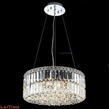 Home decorative crystal modern chandelier contemporary pendant lamp 71042