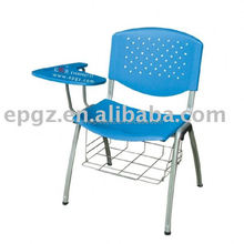 School student writing tablet / table chair, with PP board, book basket