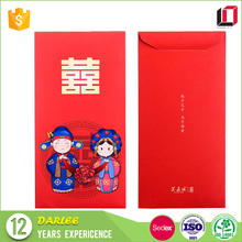 Latest design chinese handmade luxurious ang pao red packet for wedding