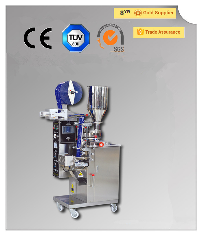Automatic small pepper/tea/salt/sugar sachet powder packing machine with good price (QPI-SFK-160II)