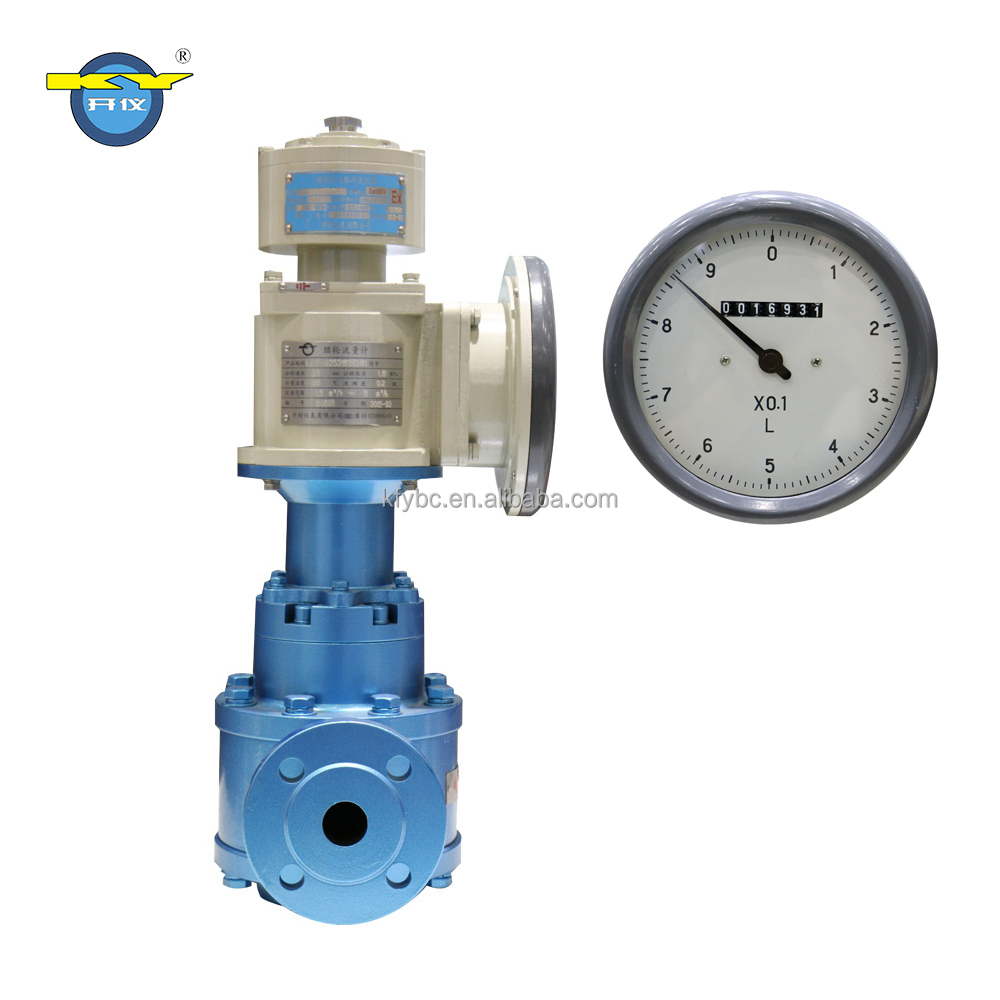 Gasoline, aviation kerosene,cooking oil,vegetable oil Flow meter PD Flowmeter