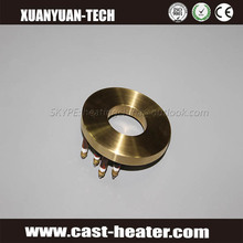 Electric Casting circle brass Heater plate