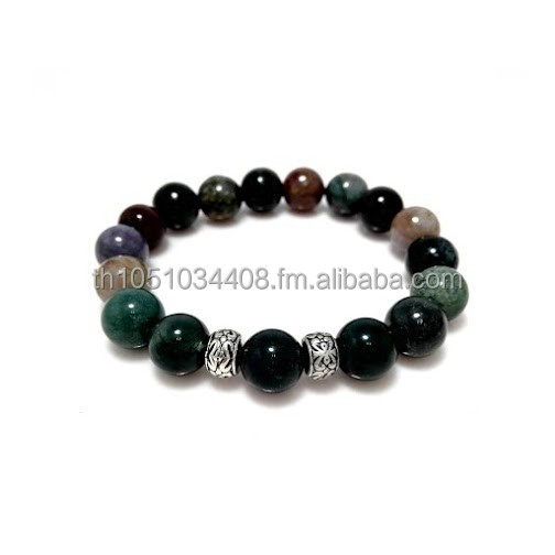 Thailand Fashion Handmade 5 Color Jade Completeness Stone Bracelets / Bangles Jewery