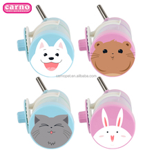 Carno 500ML plastic pet water feeder automatic rabbit waterers pet drinking bottle for cat and dog