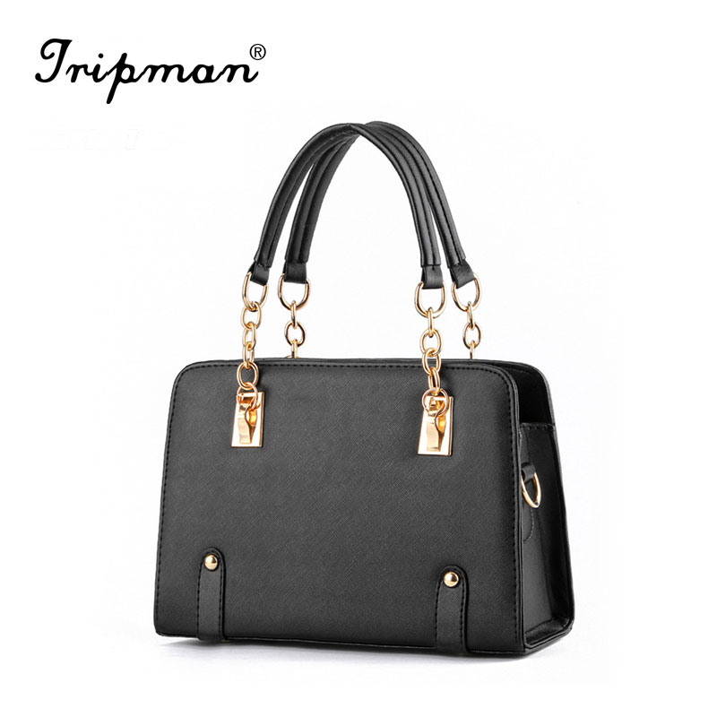 New Fashion candy color PU leather grade women shoulder <strong>handbags</strong>