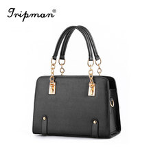 New Fashion candy color PU leather grade women shoulder handbags