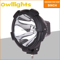 auto tuning accessories 75W round Off-Road hid Spot Head light HID driving light for Truck Tractor 4x4 Vehicle