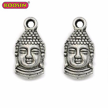Buddhist Jewelry Charms Ethnic Buddha Pendant for Necklace #D255