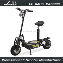 CE and RoHS approvel 1000W off-road ECC electric scooter with seat for adults