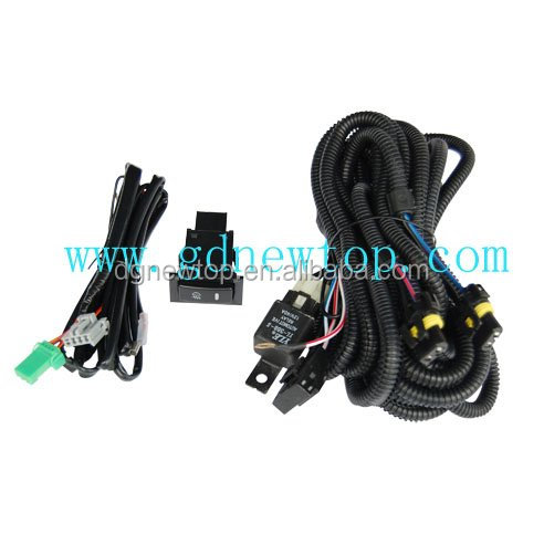 Auto fog light wiring harness used for 04-07 Toyota RAV4