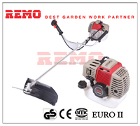 2 stroke gasoline 0.9kw brush cutter grass trimmer manual