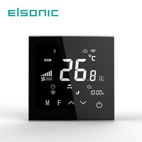 Touch Screen Underfloor Electrical Heating Digital Tuya APP Thermostat