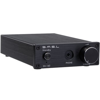 SMSL SA-160 160WPC Digital Amplifier Headphone Amplifier with Power Adapter