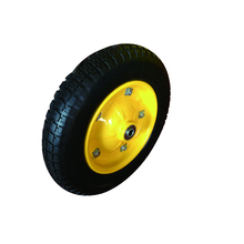 High performance strong 3.25-8 pu foam tyres for wheel