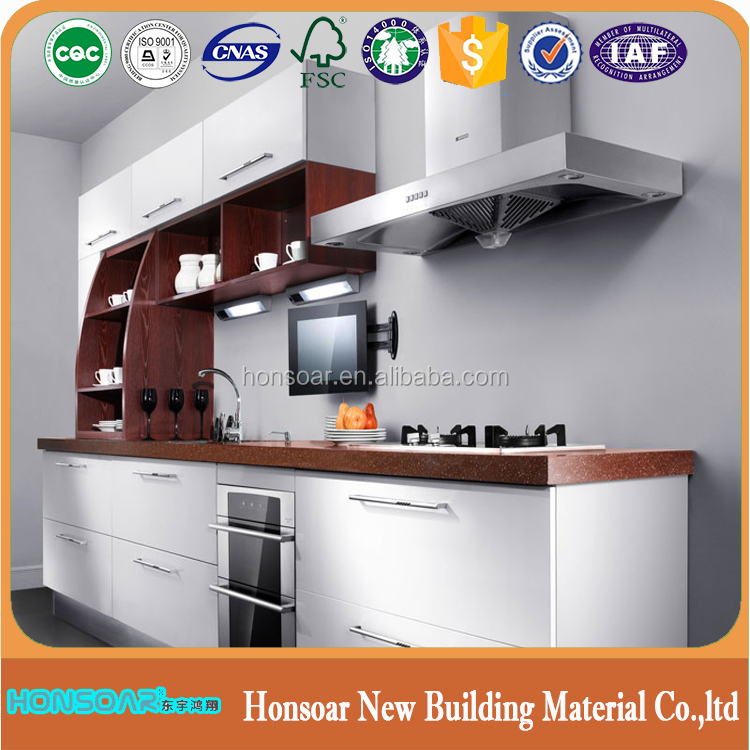 Commercial Home Design Decorative Wall Panels Plastic Cover Panels For Kitchen Cabinet Door