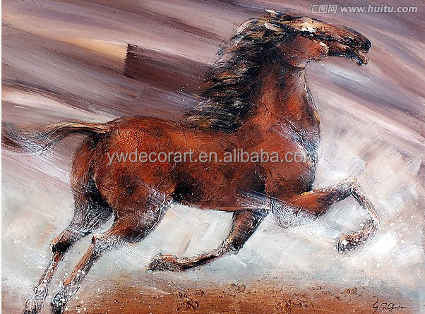 Good details Animal oil painting of horse