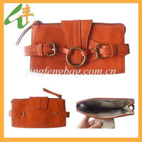 2014 beautiful leather wallet/stylish wallet
