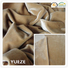 knitting korea spun polyester fabric for garment/sofa