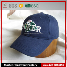 Customized Top quality unisex promotional navy cap