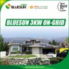 Bluesun grid tie 3000 kw solar system 3kw for solar power system home