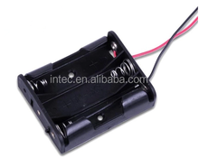 3AA battery holder with wire leads,3AA battery box, 3AA battery case