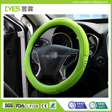 Stylish fashionable color personalized newest safety silicone car steering wheel cover