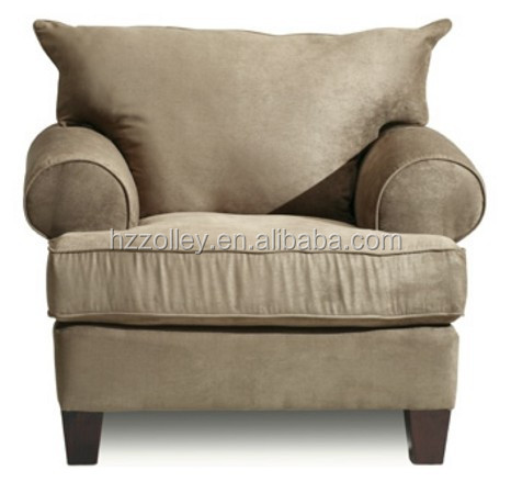 Living room overstuffed cozy sofa chair waiting room luxury sofa chair