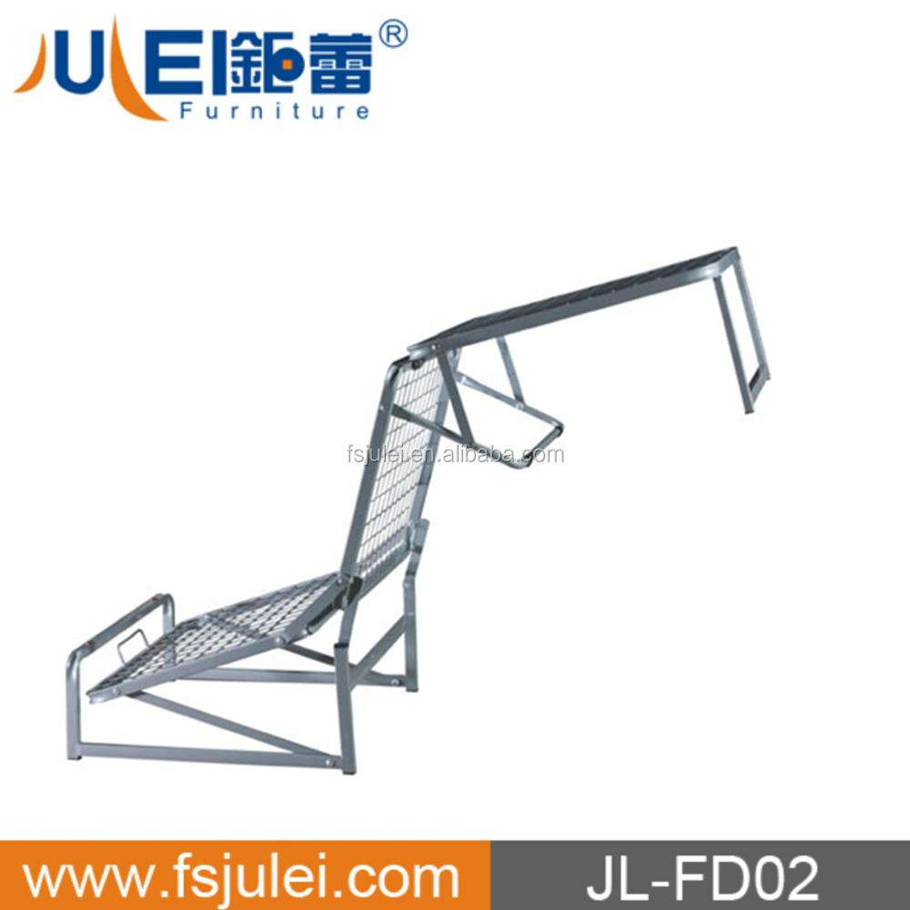 modern folding single bed DJ-PQ04-2 (JL-FD02) collapsible bed