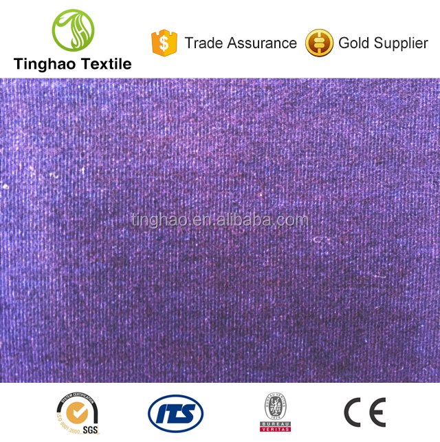 Super stretch cotton poly spandex knitted fabric