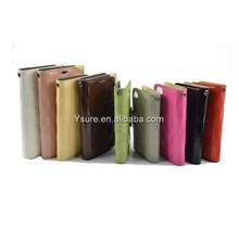 leather smartphone case for samsung galaxy note2/N7100 multi color