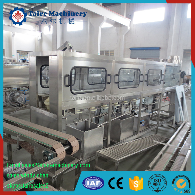 Normal style 5 gallon bottled water washing filling capping machine QGF-150(150B/H)