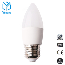 DC 12V led light bulb C37 4W factory direct sales candle lamps with CE&RoHS approved