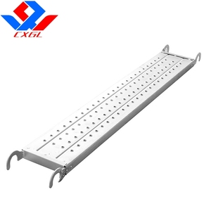 Anti-slip Scaffolding Steel Plank /Scaffolding Platform Board/ Catwalk with hook