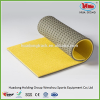 durable sports basketball, tennis, volleyball rubber flooring mat, sports court surface