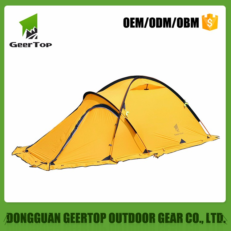20D Lightweight Camping Hiking 4 Season 2 Person Tent