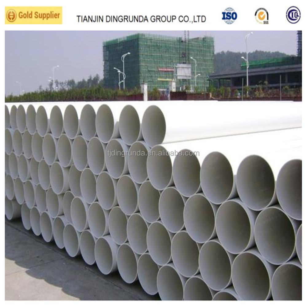 400mm PVC pipe plastic pipe drain tube