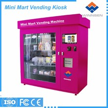 Hair straightener vending machines antomatic teeh brush selling machine
